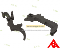 RA-Tech CNC Steel Trigger set for WE M14 GBB (WE-040)